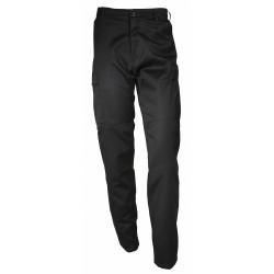 Pantalon noir polycoton