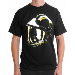 Tee-shirt SP sérigraphie Casque F1 phosphorescent