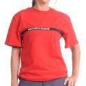 T-shirt rouge Sécurité incendie