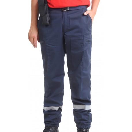 Pantalon SSIAP Polycoton marine