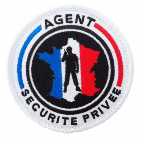 Ecusson rond SECURITE PRIVEE