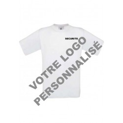 T-shirt manche courte a personnaliser