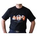 Tee-shirt SP sérigraphie évolution Casques