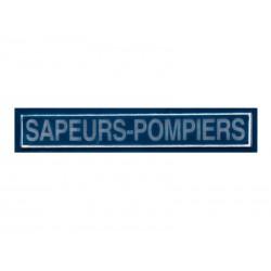 """Bande patronymique marine """"Sapeurs Pompiers"""""""
