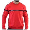 Sweat rouge bande marine SSIAP