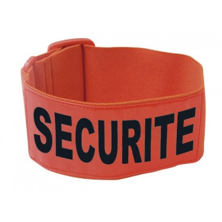 Brassard SECURITE orange