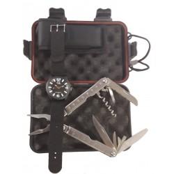 Coffret montre et pince multifonctions