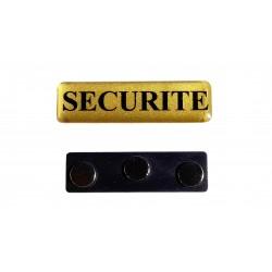 Badge magnétique SECURITE