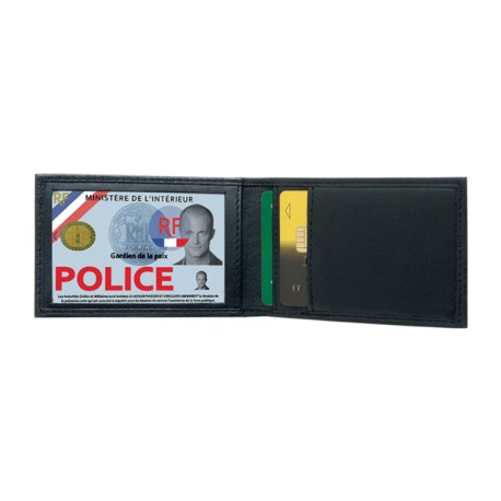 Mini porte carte horizontal 2 volets