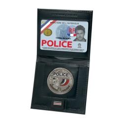Mini porte-cartes médaille et grade