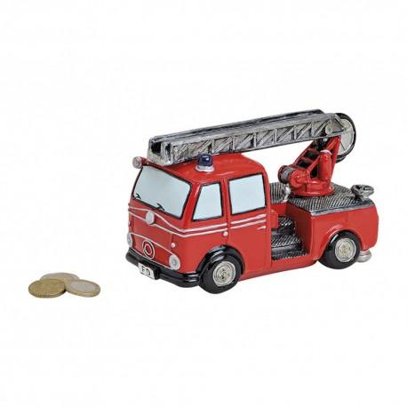 Tirelire camion de Pompier Echelle